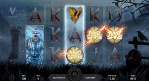 Raid Spins in Vikings Slot