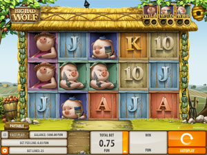 How to play Big Bad Wolf Slot?