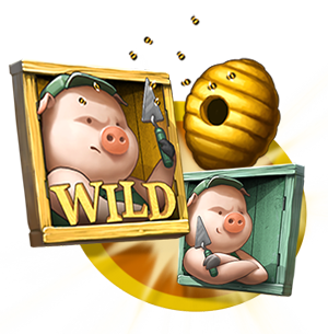 Wild Feature Bonus in Big Bad Wolf Slot