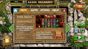 Free Spins in Bonanza Slot