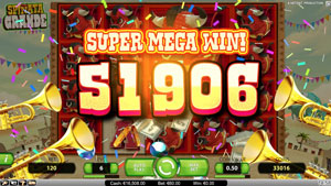 Super Mega Win at Spinata Grande Slot