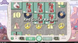 Red Guitar Re-Spin Bonus Feature