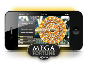 Play Mega Fortune on your mobile