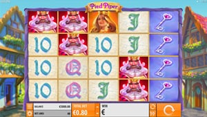 Red Piper fairtyale slot by Quickspin