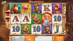 One of the best quickspin slots: Goldilocks