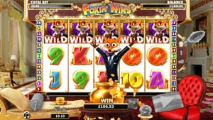 This is how you win at Foxin Wins slot