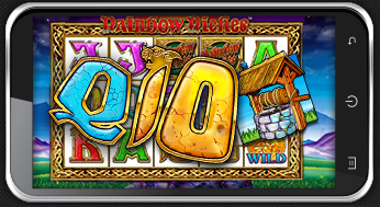 Mobile version of Rainbow Riches slot