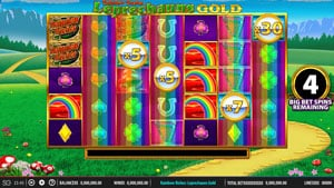 Rainbow Riches Leprechauns Gold Big Bet Game Feature