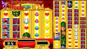 Free Spins in Rainbow Riches reels of gold