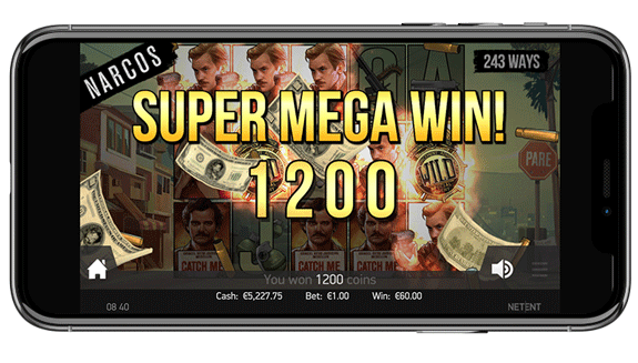 Narcos Mobile Touch Slot Version