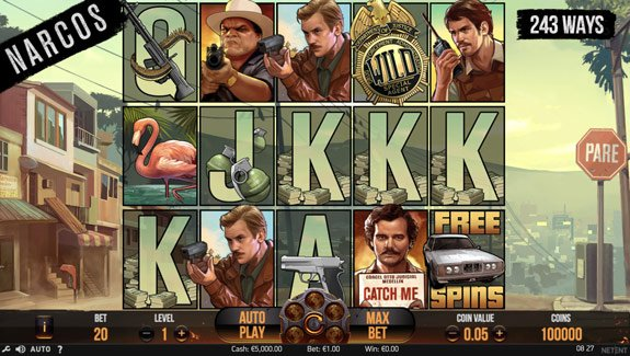How to play Narcos Slot Machine