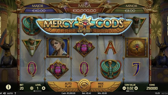 Mercy of the Gods Slot Machine