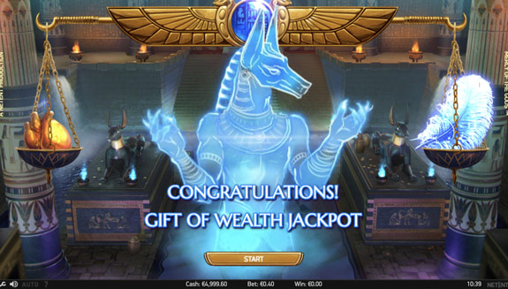 Gift of Wealth Jackpot