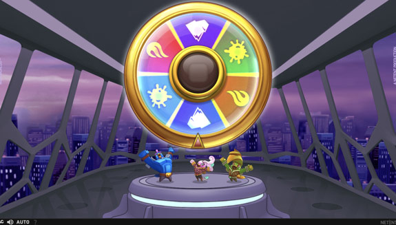 free spins rounds