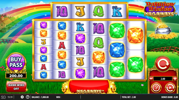 How to play Rainbow Riches Megaways