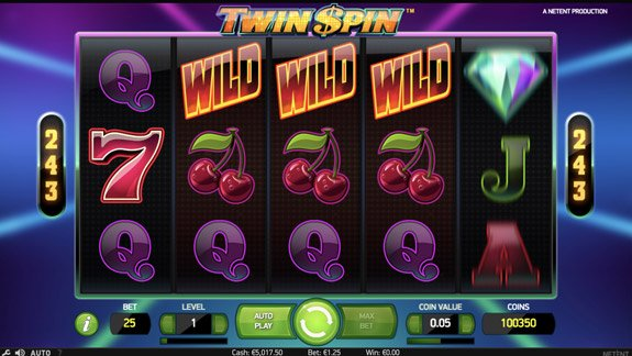 Wild Feature in Twin Spin