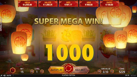Super Big wint at Imperial Riches