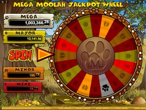 Top online casino games like Mega Moolah