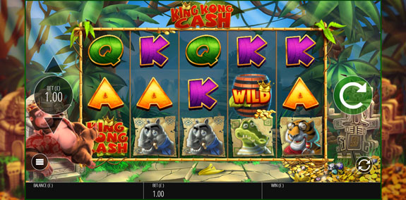 King Kong Cash slot