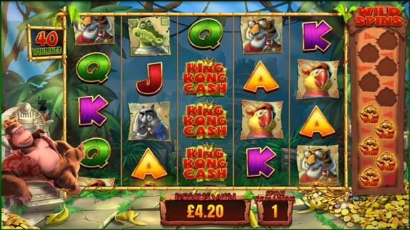 King Kong Cash slot game