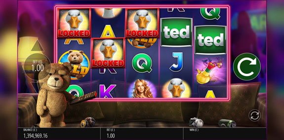 Ted slot bonus feature