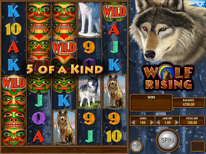 Wolf Rising slot game