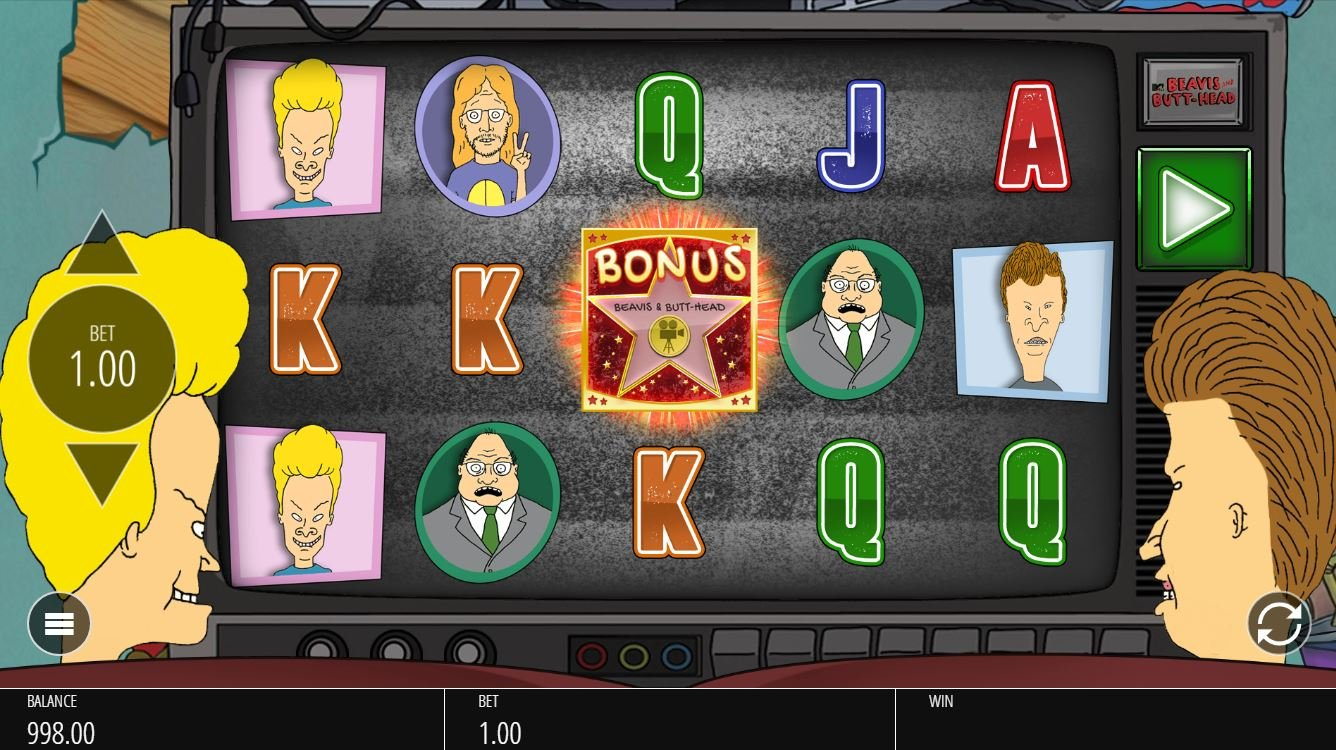 Beavis and Butthead slot game