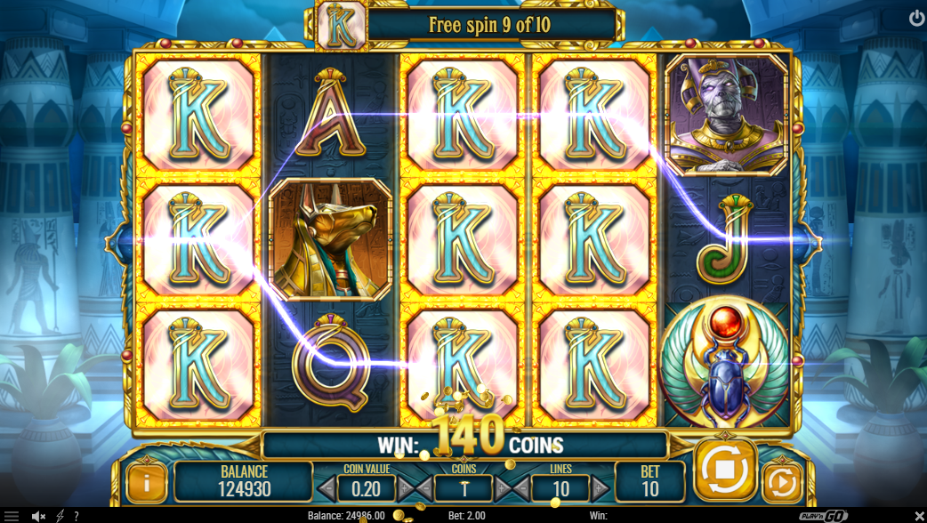 Doom of Egypt slot free spins