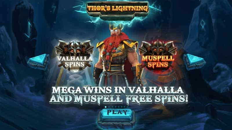 Thor's Lightning slot free spins
