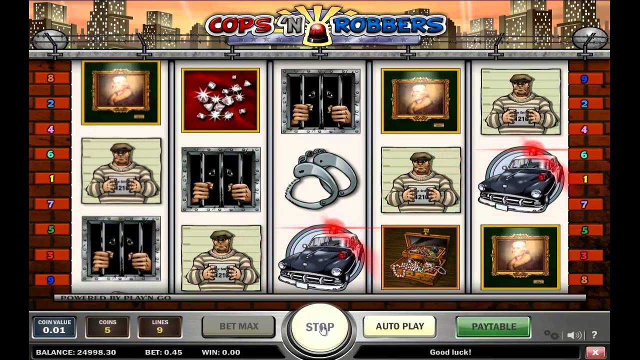 Cops and Robbers slot machine