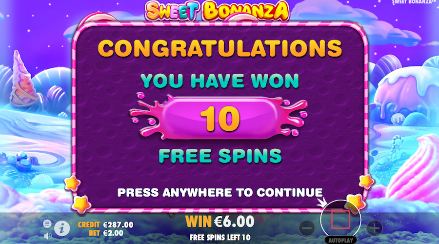 Sweet Bonanza slot free play