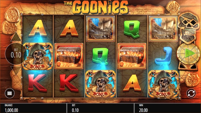 The Goonies free play
