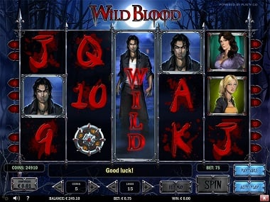 Wild Blood slot game