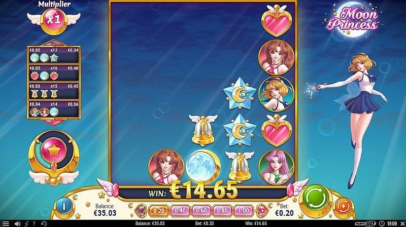Moon Princess casino game