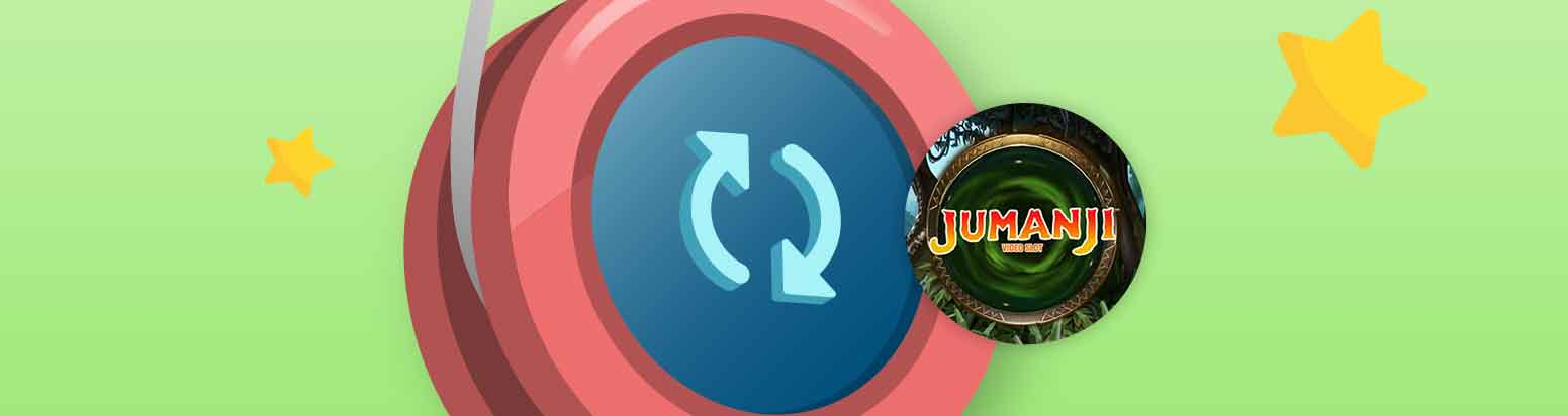 You're welcomed to the jungle with 30 free spins on Jumanji